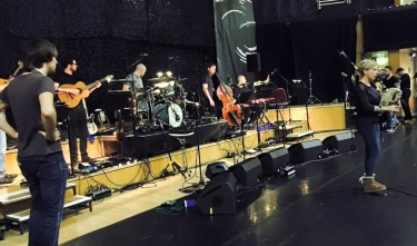01/2016 - Sound check - Glasgow